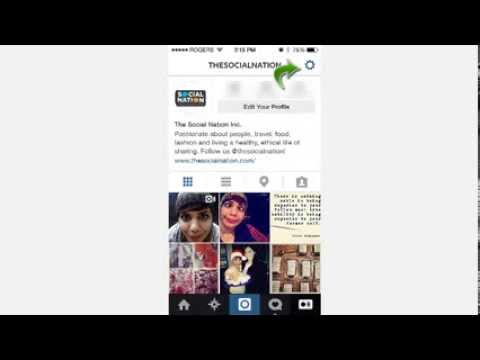 How to link your Instagram account to your Facebook Fanpage!