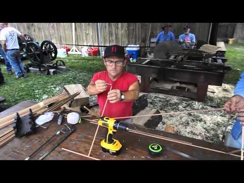 Making a Box Kite at the Goshen Fair