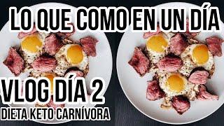 🥓 FULL DAY OF EATING VLOG CARNIVORE | LO QUE COMO EN UN DIA VLOG CARNIVORO #2 | Manu Echeverri