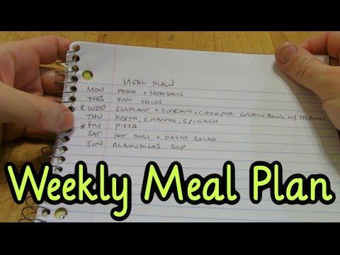 Meal Plan Monday #7 (2/12/18)