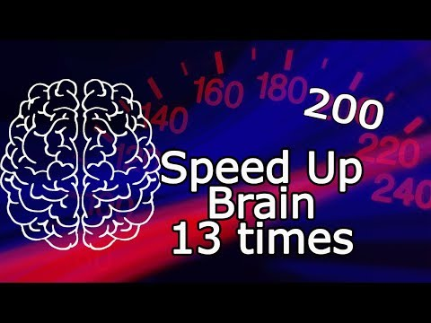 13 ideas how to speed up your brain    How to improve your memory and develop mental strength