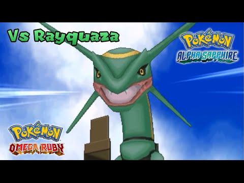 Pokemon Omega Ruby/Alpha Sapphire - Battle! Rayquaza (HQ)