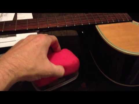 How to make a guitar humidifier & how to fix a crack in a guitar