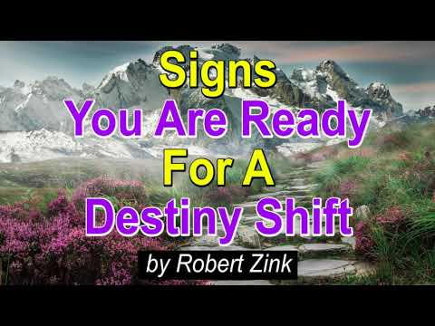 Signs You Are Ready a Destiny Shift with the Law of Attraction Secrets - Manifest a New Life