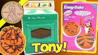 Suzy Homemaker Kids Toy Oven & Easy Bake Tony The Tiger Cakes!