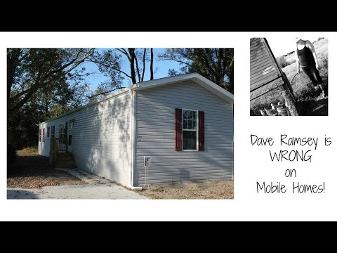 Dave Ramsey is Wrong on Mobile Homes