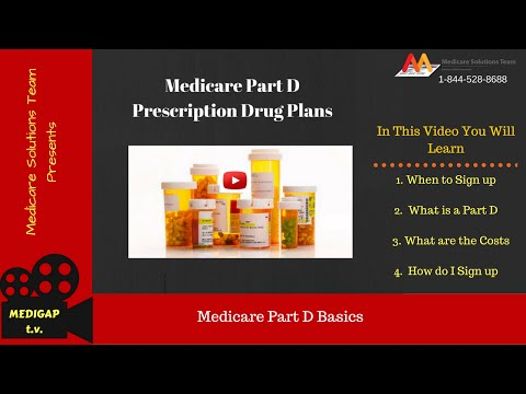 Medicare Part D - Details You Need to Know to Before You Enroll