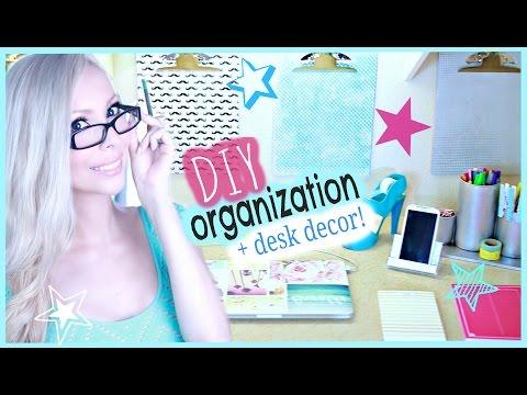 DIY Organization & Desk Decor Ideas!
