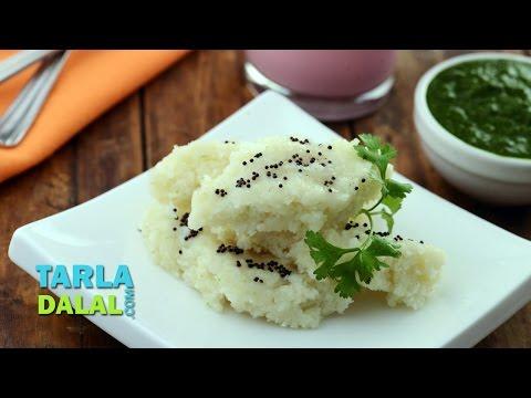 Poha Dhokla, Quick Breakfast Recipe  by Tarla Dalal