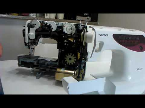 How to fix only sewing backward. Brother sewing machine.