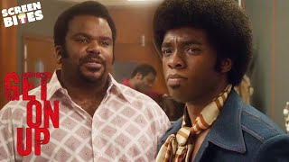 The Band Leaves James Brown | Get On Up | SceneScreen