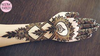 Gulf Henna Design 21 Heena Vahid 7mbes Videostube
