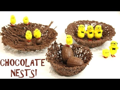 how to make the EASIEST CHOCOLATE NESTS!   Its A Piece Of Cake