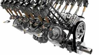 V8 Engine Animation v 2 fast rendering