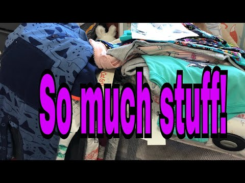 Huge Collective Baby Clothes Haul