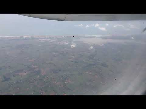 flight landing at pondicherry
