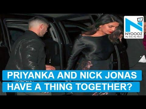 Priyanka Chopra and Nick Jonas go on dinner date once again