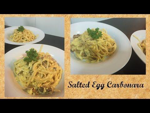 Salted Egg Carbonara