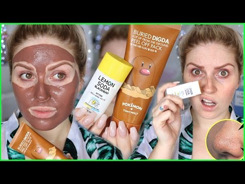 PEEL OFF MASK & BLACKHEAD STICK! 💕👃 First Impression & Review!