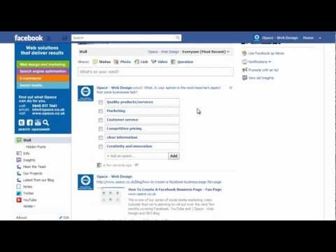 How To Use Facebook Polls (Questions)