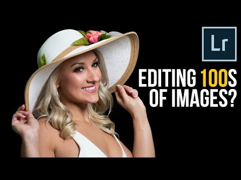 Editing 100s of Images? Make it REALLY FAST in Lightroom!