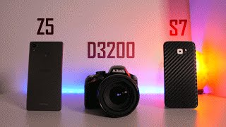 Camera Comparison: Galaxy S7 vs. Xperia Z5 vs. Budget DSLR!