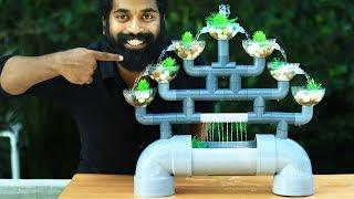 Pvc Aquarium Fountain Making | M4 Tech |