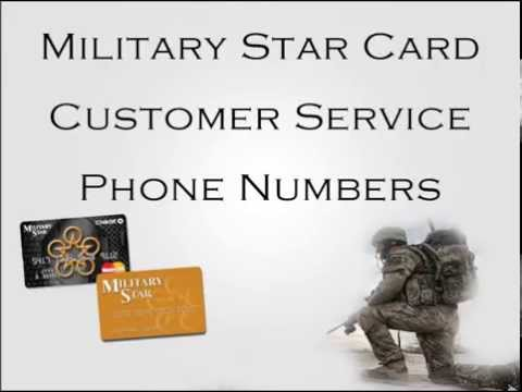 Military Star Card Customer Service Phone Numbers