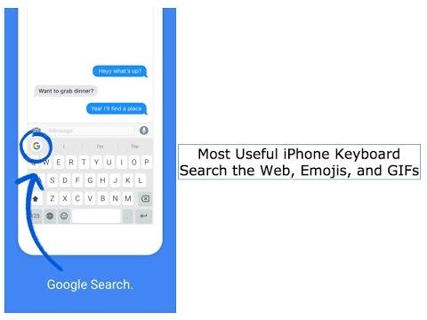 Gboard - Search GIF's, Emojis, and The Web - Most Useful iPhone Keyboard