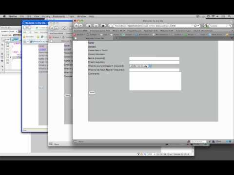 (10/14) Aligning Text & Input Elements with Float & Width - Accessible Form Series