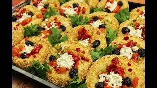 ألذ وأجمل معجنات تركية فطائر السميت بالجبنة مع رباح محمد ( الحلقة 580 )
