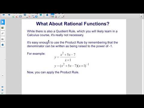 AP Physics C Calculus Derivatives Product and Quotient Rules Pt 2