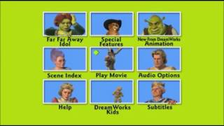 Shrek 2 Dvd Menu With Donkey Playithub Largest Videos Hub
