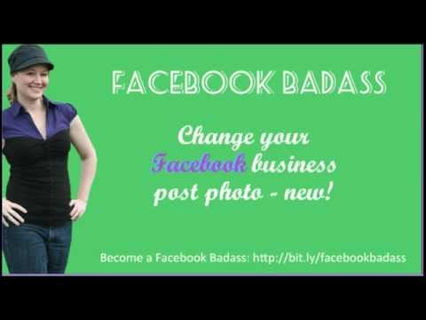 Change the photo in your #Facebook post on business pages