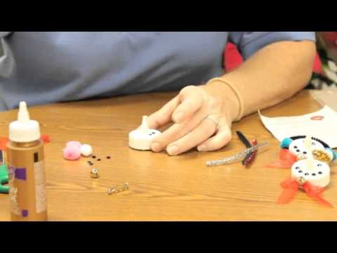 Crankin' Out Crafts -ep454 Tea Light Snowman Pin