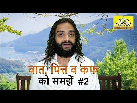 2. Vata Pitta Kapha (Tridosha) Explained   Basic Ayurveda Knowledge in Hindi by Nityanandam Shree