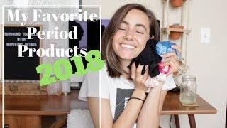 My Favorite Period Products | 2018