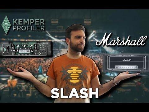 SLASH TONE: Kemper VS Marshall AFD 100