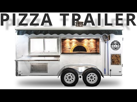 Pizza Trailer Mobile Concession Kitchen