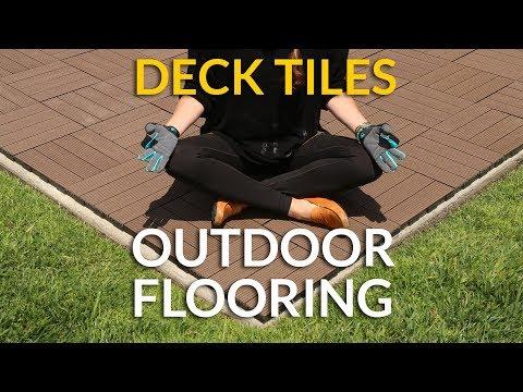 Deck Tiles Outdoor Flooring