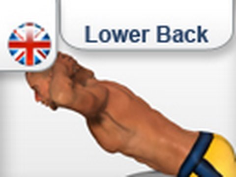 Exercises Lower back  muscles - extension Lumbar Muscle (female/male)