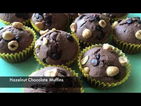Hazelnut Chocolate Muffins - Episode 351 - Baking with Eda