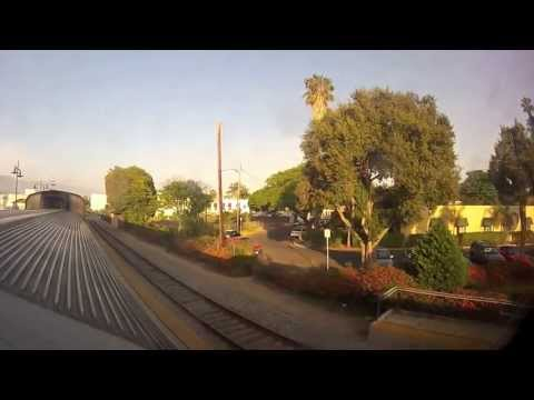 Santa Barbara to Los Angeles by rail