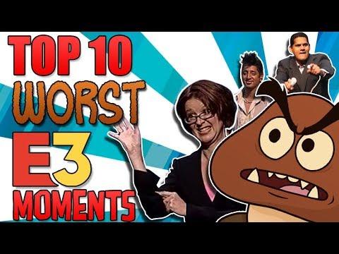 Nintendo's 10 WORST E3 Moments - The Lonely Goomba