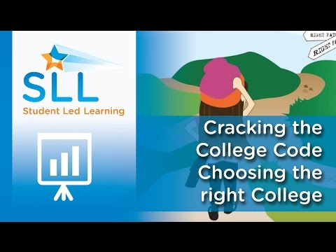 Cracking the College Code - Choosing the right College