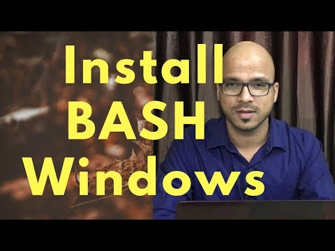 How to Install BASH Shell on Windows 10