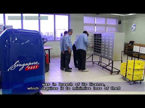 IDA fines SingPost $30,000 over missing mail incident in Woodlands - 02Apr2014