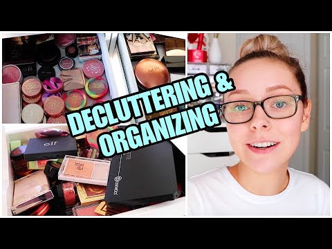 DELUTTERING MY MAKEUP COLLECTION | Blushes & Bronzers