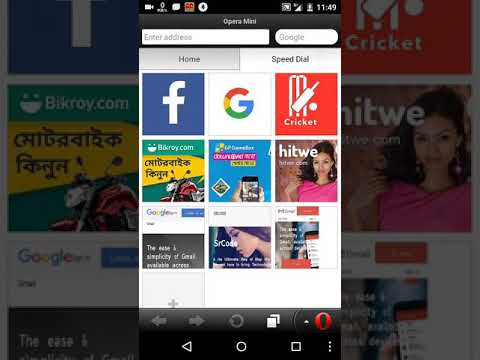 how to delete facebook account on opera mini