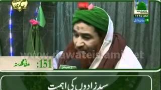 Golden Words - Syed Zadon ki Ahmiyat by Ameer e Ahle Sunnat Maulana Ilyas Qadri